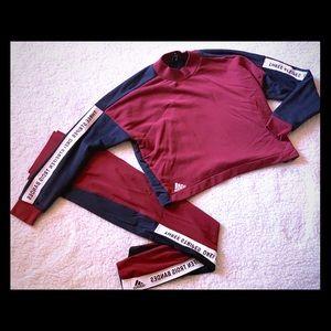 ADIDAS Leggings and sweat shirt set